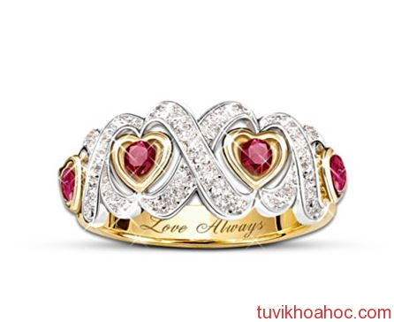 Hearts-And-Kisses-Engraved-Ruby-And-Diamond-Ring