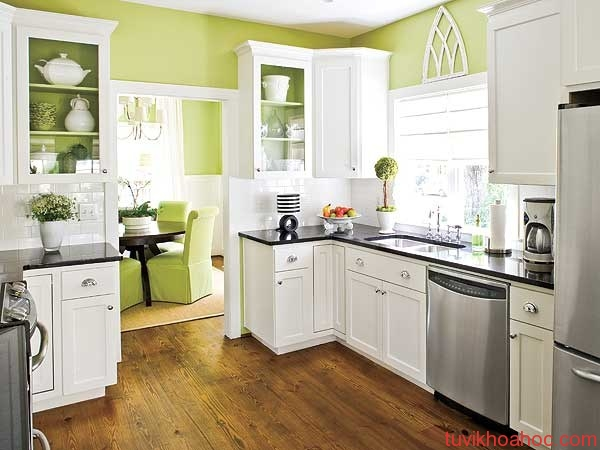 Green-Kitchen-Design-with-White-Kitchen-Furniture-via-besthomedesigns_org